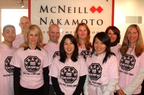 Team McNak in the pink