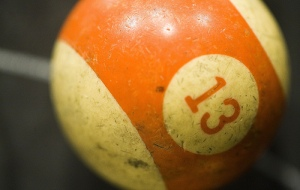 13 cue ball